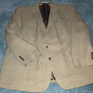 Oscar De La Renta 56L Men's Wool Blazer PERFECT